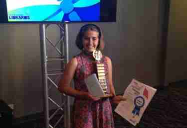 Matilda Colling: Young Author of the Year Regional Winner